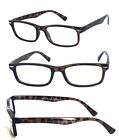 Retro Small Rectangular Clear Lens Reading Glasses Various Strength  Color RE29