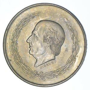 SILVER - WORLD COIN - 1952 Mexico 5 Pesos - World Silver Coin *349