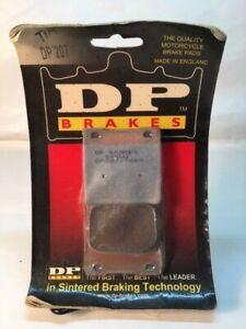 DP Brakes - DP207 - Standard Sintered Metal Brake Pads Suzuki