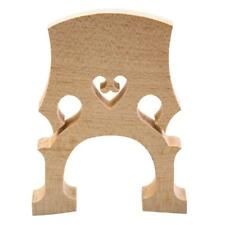3/4 Upright Double Bass Separate Bridge Maple Wood Bridge Bass Accessories