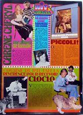 CLAUDE FRANCOIS / KAREN CHERYL => COUPURE DE PRESSE 1 page 1977