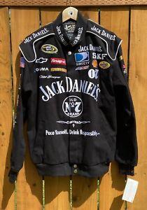 Chase Authentics Clint Bowyer NASCAR Jack Daniels Jacket Size Medium - NWT