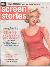 SCREEN STORIES  June 1962 (6/62) - Complete Issue
