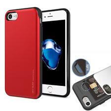 Hard slim Shockproof 2-Credit Card Holder Wallet Case for iPhone 7/Galaxy S8/LG
