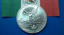 MONEDA DE PLATA PURA LEY 0.999/1000  MEXICO 1 ONZA. AÑO 1996