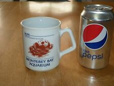 MONTEREY BAY AQUARIUM - SEA OTTER, Ceramic Coffee Cup / Mug, Vintage