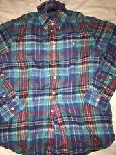 Women Ladies Polo Ralph Lauren Linel Shirt Blouse XL