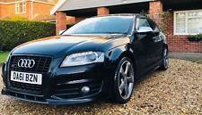 Audi s3 Black edition Late 2011 top spec, sat nav, heated seats, all extras.