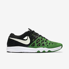 MENS NIKE TRAIN SPEED 4 AMP SHOES SIZE 9 green white black 844102 301