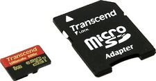TRANSCEND MICRO SDHC 90MB 8GB UHS-I U1 CLASS 10 600X ULTIMATE 8G 8 G GB MICRO SD