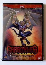 Amazing Disney Channel Cartoon Series Gargoyles Season 2 Volume 2 3 DVD Set
