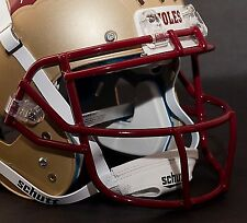 Schutt Super Pro ROPO-SW Football Helmet Facemask / Faceguard (SAN FRAN RED)