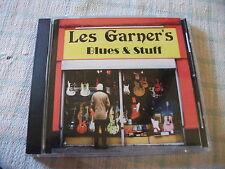 Les Garners Blues & Stuff CD Album Rare UK Private Recording 2011 ( Harmonica )