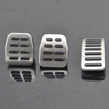 Stainless Steel Pedal Cover Set Manual Transmission For VW Golf Jetta 4 MK4 Bora