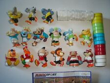 KINDER SURPRISE SET - MAGIC SPORT 1 SOCCER ANIMALS 2006 - FIGURES COLLECTIBLES