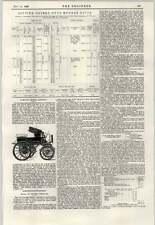 MOTORE ELETTRICO 1897 trasporto Murray River ponte di sollevamento