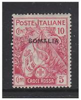 Somalia - 1916, 10c + 5c Red Cross stamp - Mint - SG 19