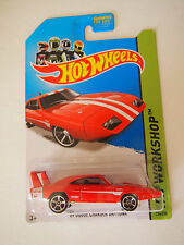 2013 HOT WHEELS 69 DODGE CHARGER DAYTONA 234/250 HW WORKSHOP