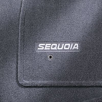 2004 2005 2006 2007 Toyota Sequoia, Carpet Floor Mats Gray - OEM  PT206-0C050-11