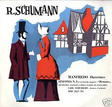 SCHUMANN Manfredo overture LP Used