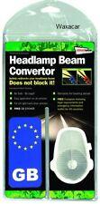 European Car & Van Beam Bender / Converters Convertors & Number Plate GB Sticker