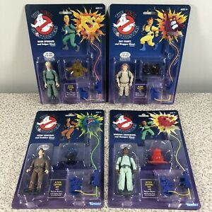 Kenner The Real Ghostbusters Retro Action Figures Lot of 4 Walmart Exclusive NEW
