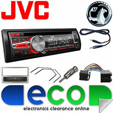 Vauxhall CORSA C 00-04 Jvc Auto Radio Stereo UPGRADE KIT CD MP3 AUX USB ARGENTO