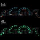 Dash Instrument Cluster Gauge Green Leds Lights Kit Fits 95-03 Ford Ranger Truck