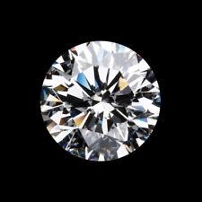 1.09Ct 7mm Round Cut Near White (HI) Clear 100% Genuine Loose Moissanite Diamond