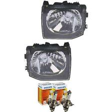 Halogen Headlight Set Mitsubishi Pajero 97-8.99 H4 without Motor 56741884