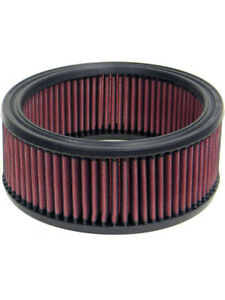 K&N Round Air Filter FOR DODGE W200 SERIES 225 L6 CARB (E-1000)