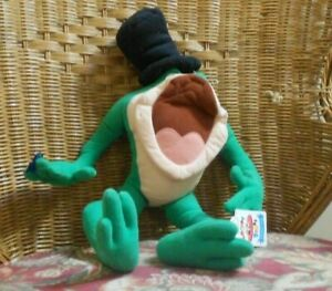 Michigan J Frog Plush 20 inches top-to-bottom Applause