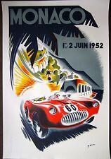 Monaco Grand Prix 1952 Poster