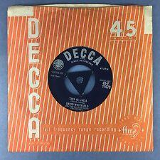 David Whitfield - This Is Lucia / Love Is A Stranger - Tri-Centre Decca F.11079