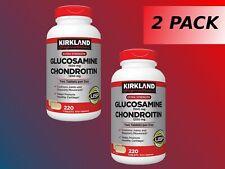 Kirkland Glucosamine Chondroitin 1200 mg Glucosamine 1500MG 220 tablets  2 Pack