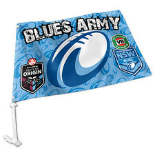 NEW 2017 State of Origin NSW New South Wales Blues CAR FLAG Man Cave Fathers Day
