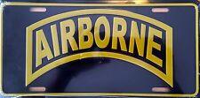 AIRBORNE Premium Embossed License Plate (LP-1109-148)