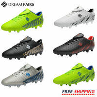 DREAM PAIRS Mens Soccer Shoes Football Shoes Firm Ground Soccer Cleats