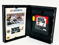 NHL 94 Hockey Sega Genesis Authentic Rare Game Box Case and Manual 1994