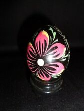 Wooden Lacquer Egg hand crafted