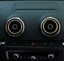 Audi A3 S3 Cerchio Oro Ugello Griglia Ventilazione Aria Accessorio Interno