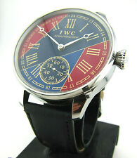 IWC International watch co SCHAFFHAUSEN wristwatch steel case, glass back cover