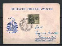 BRD, Deutsche-Therapie-Woche SSt Karlsruhe Deutsche Heilmittelausstellung 1959