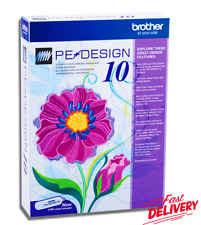 Brother PE Design 10 | Embroidery Full Software 2020 🔥 Free Gifts 🔥 1s Delivry