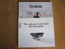 System Magazine 02 Autumn / Winter 2013 Rei Kawakubo New.