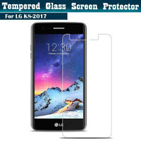 100% Genuine Tempered Glass Screen protector protection FILM For LG K8 (2017)
