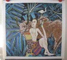 Li Qiang Yunnan School Original Chinese Art on Gaoli Paper Country Song 1989