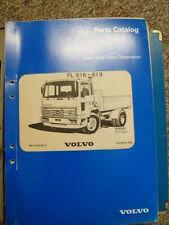 VOLVO FL616 - FL619  PARTS MANUAL  ....  COMPLETE