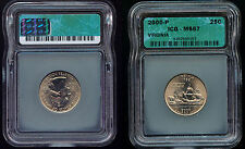 2000-P ICG VIRGINIA QUARTER  MS67   (465)  A BEAUTIFUL COIN