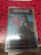 John Coltrane MY FAVORITE THINGS New Sealed Clear Cassette Tape